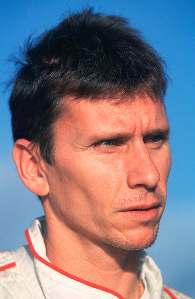 2001 FIA World Rally ChampsRallye de France, Ajaccio, Corsica, 18th-21st October 2001.Gilles Panizzi, Portrait.World Copyright: LAT Photographic/McKlein.ref: 35mm Image A04
