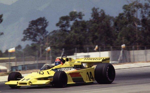 1978 Brazilian Grand Prix.Jacarepagua, Rio de Janeiro, Brazil.27-29 January 1978.Emerson Fittipaldi (Fittipaldi F5A Ford) 2nd position.World Copyright - LAT Photographic