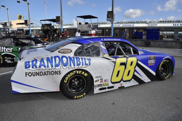 #68: Brandon Brown, Brandonbilt Motorsports, Chevrolet Camaro Brandonbilt Foundations
