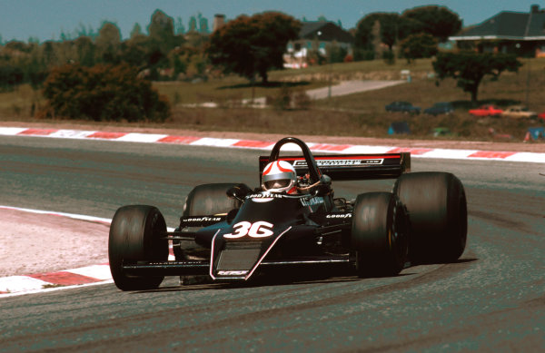 1979 Spanish Grand Prix.Jarama, Madrid, Spain.27-29 April 1979.Gianfranco Brancatelli (Kausen WK Ford) at his first race. He never qualified for a Grand Prix.Ref-79 ESP 16.World Copyright - LAT Photographic