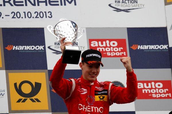 Race winner Raffaele Marciello (ITA) PREMA POWERTEAM Dallara F312 Mercedes