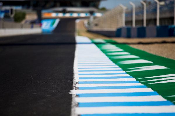 2017 GP3 Series Round 7.  Circuito de Jerez, Jerez, Spain. Thursday 5 October 2017. A view of the track. Photo: Zak Mauger/GP3 Series Media Service. ref: Digital Image _X0W9405
