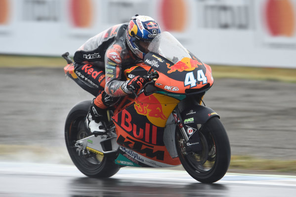 2017 Moto2 Championship - Round 15 Motegi, Japan. Friday 13 October 2017 Miguel Oliveira, Red Bull KTM Ajo World Copyright: Gold and Goose / LAT Images ref: Digital Image 21401