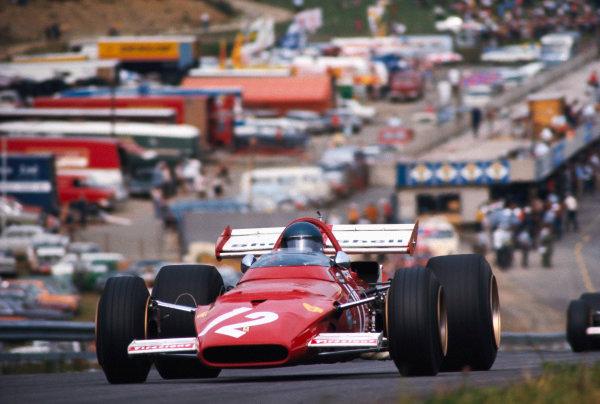 Jacky Ickx, Ferrari 312B.