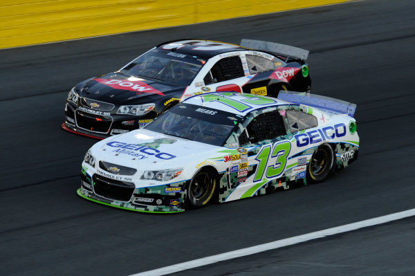16-17 May, 2014, Concord, North Carolina, USA   Casey Mears, Austin Dillon © 2014, John Harrelson / LAT Photo USA
