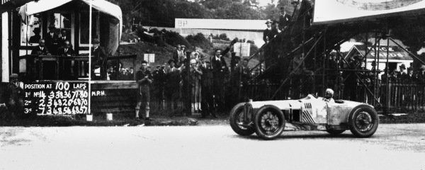 Brooklands, Great Britain. 7 August 1926.