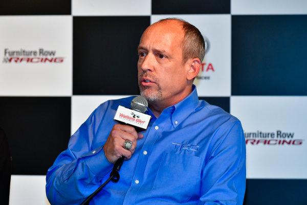 5-7 August, 2016, Watkins Glen, New York USA Furniture Row Racing, Erik Jones press conference, David Wilson ?2016, Logan Whitton  LAT Photo USA