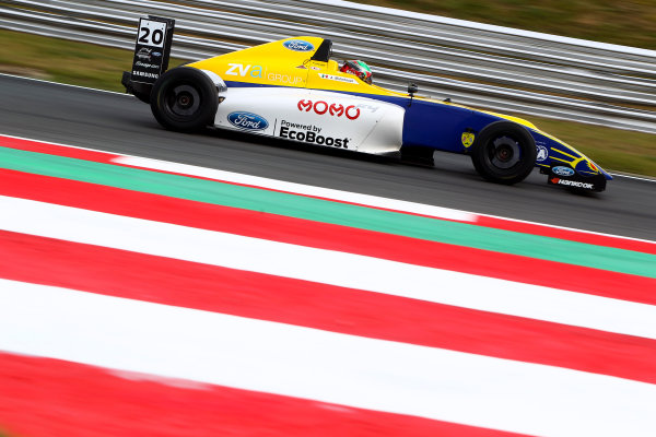 2016 British Formula 4 Championship, Snetterton, Norfolk. 29th - 31st July 2016. Alexandra Mohnhaupt (MEX) Falcon Motorsport Ford British F4. World Copyright: Ebrey / LAT Photographic.