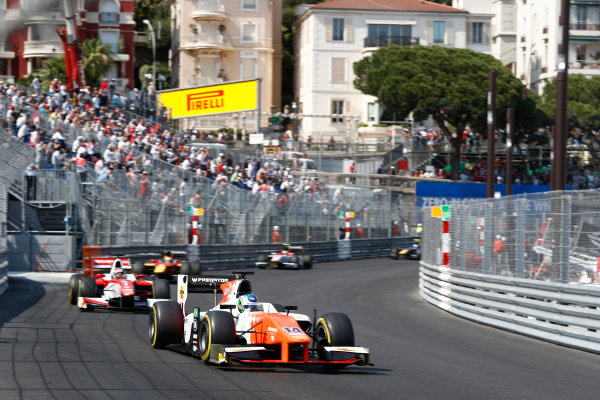 2017 FIA Formula 2 Round 3. Monte Carlo, Monaco. Saturday 27 May 2017. Sergio Sette Camara (BRA, MP Motorsport)  Photo: Zak Mauger/FIA Formula 2. ref: Digital Image _X4I9551