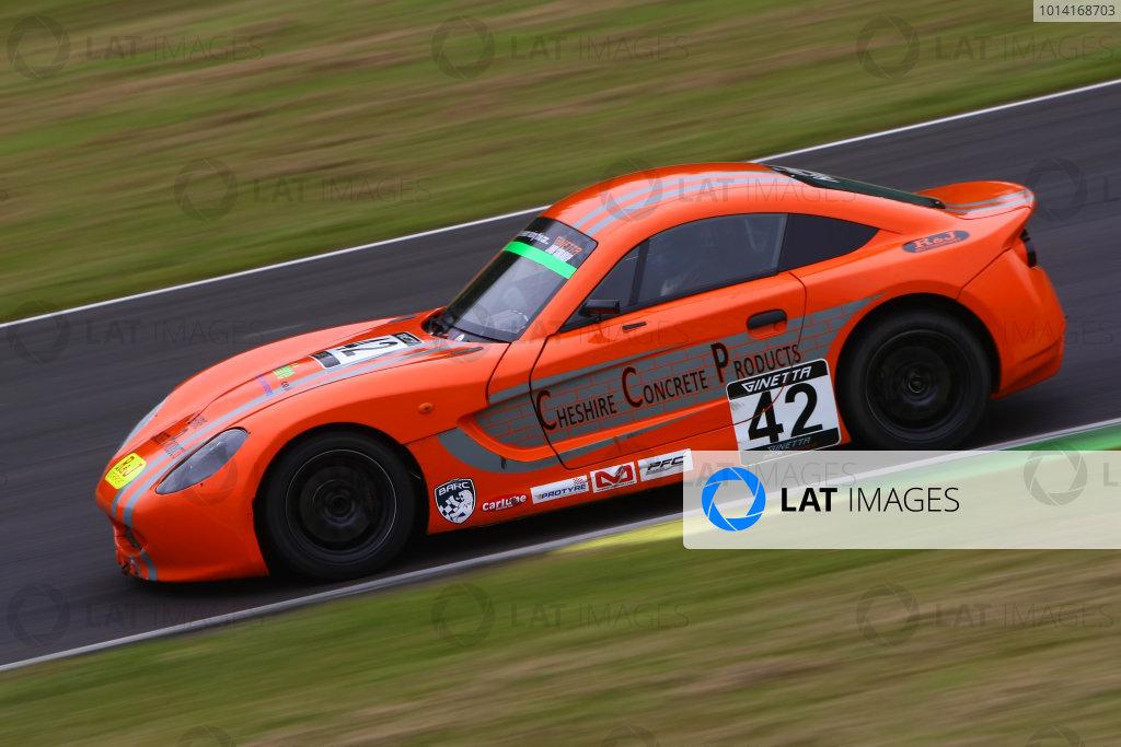 2014 Ginetta Junior Championship, Croft, North Yorkshire. 28th-29th June 2014 Jonathan Hadfield (GBR) R&J Motorsport Ginetta Junior World copyright: Ebrey/LAT Photographic