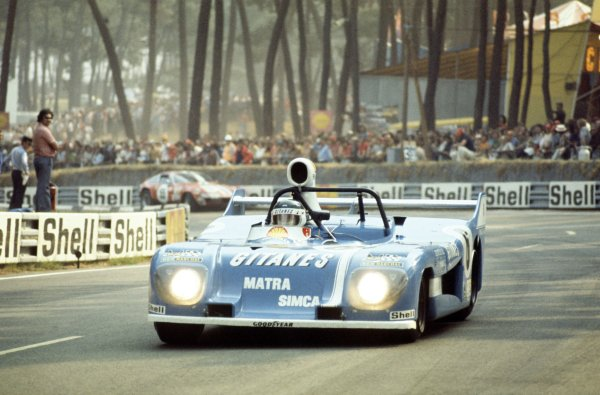 1974 Le Mans 24 hours.Le Mans, France. 15-16 June 1974.Jean-Pierre Beltoise/Jean-Pierre Jarier (Matra-Simca MS680), retired.World Copyright: LAT PhotographicRef: 35mm transparency 74LM22