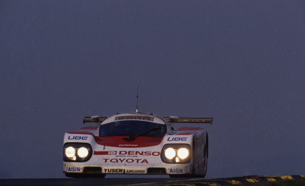 Roland Ratzenberger (AUT) Toyota Team SARD. Le Mans 24 Hours, Le Mans, France, 16-17 June 1990.