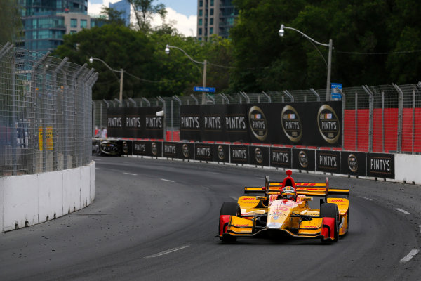 Verizon IndyCar Series Honda Indy Toronto Toronto, ON CAN Sunday 16 July 2017 Ryan Hunter-Reay, Andretti Autosport Honda World Copyright: Phillip Abbott LAT Images ref: Digital Image abbott_toronto_0717_7019