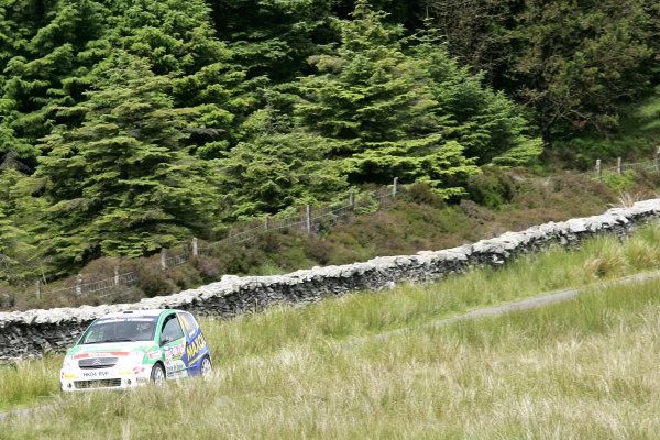 Isle of Man. 9th - 10th July 2010.Joe McGonigle/Niall Burns Cuisine de France Citroen C2R2 Max.World Copyright: Ebrey LAT Photographic.