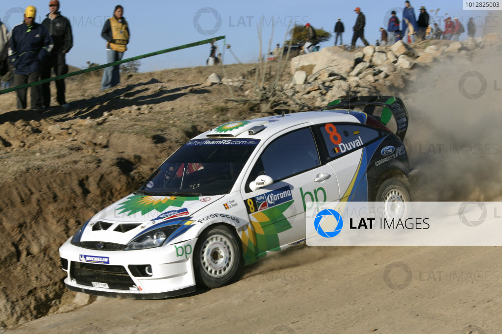 2004 FIA World Rally Champs. Round three, Corona Rally Mexico.11th-14th March 2004.Francois Duval, Ford, action.World Copyright: McKlein/LAT