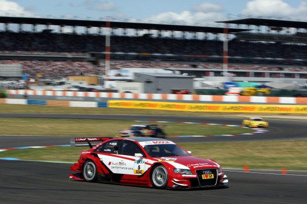 Oliver Jarvis (GBR), Audi Sport Team Abt.DTM, Rd4, Eurospeedway Lausitz, Germany, 18-19 June 2011.