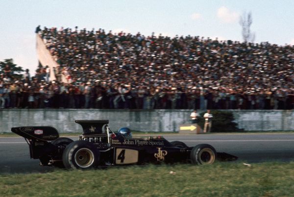 Buenos Aires, Argentina. 26-28th January 1973.  Ronnie Peterson (Lotus 72D-Ford), retired.  Ref: 73ARG63. World Copyright: LAT Photographic