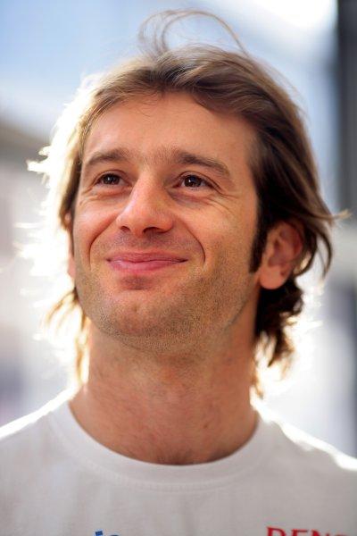 2007 Spanish Grand PrixCircuit de Catalunya, Barcelona, Spain.11th - 13th May 2007.Jarno Trulli, Toyota TF107. Portrait.World Copyright: Lorenzo Bellanca/LAT Photographicref: Digital Image ZD2J5422