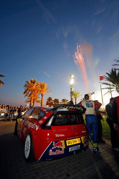 Round 11, Rally of Spain, Catalunya2nd-5th October 2008Sebastien Loeb, Citroen, atmosphere, ambience, start ceremonyWorldwide Copyright: McKlein/LAT