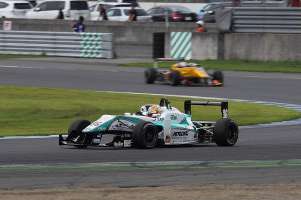 Motegi, Japan. 3rd - 4th August 2013. Rd 5. Race 2 - Winner  Yuichi Nakayama ( #36 PETRONAS TEAM TOM'S ) action. World Copyright: Yasushi Ishihara/LAT Photographic. Ref: 2013JF3_Rd11_002