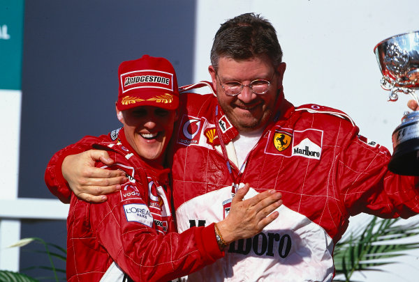 2002 Brazilian Grand Prix, Interlagos, Brazil. 29th - 31st March 2002.