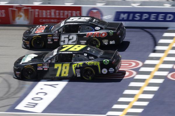#78: Vinnie Miller, B.J. McLeod Motorsports, Chevrolet Camaro Koolbox #52: David Starr, Means Motorsports, Chevrolet Camaro ATS