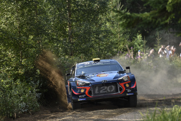 Andreas Mikkelsen will be hoping for an upturn in his form on Rally Finland