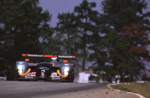 1999 American Le Mans Series.Road Atlanta, USA.17-19 September 1999.David Brabham/Eric Bernard/Andy Wallace (Panoz), 1st position.World - Tee/LAT Photographic