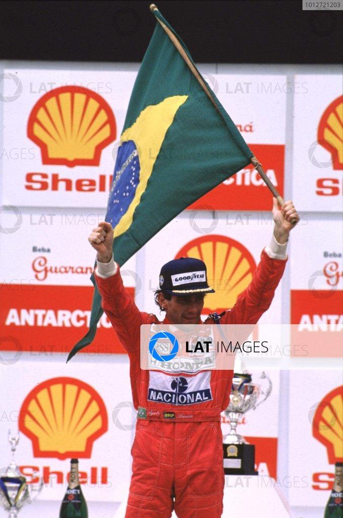 1991 Brazilian Grand Prix.
