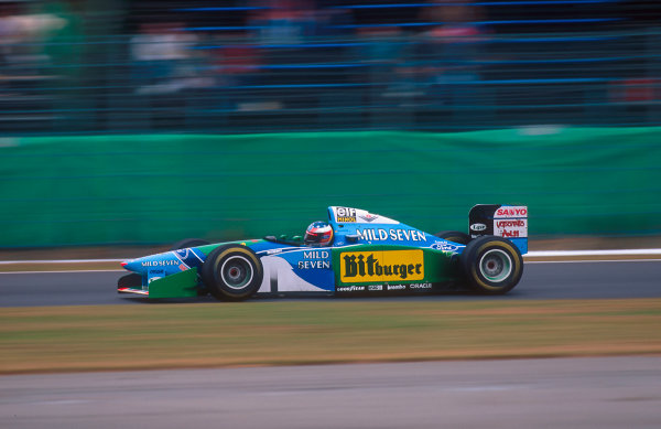 Suzuka, Japan. 4th - 6th November 1994. Michael Schumacher (Benetton B194 Ford) 2nd position.Ref-94 JAP 14.World Copyright - LAT Photographic