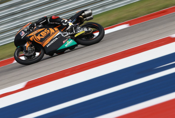 2017 Moto3 Championship - Round 3 Circuit of the Americas, Austin, Texas, USA Friday 21 April 2017 Adam Norrodin, SIC Racing Team World Copyright: Gold and Goose Photography/LAT Images ref: Digital Image Moto3-500-1506