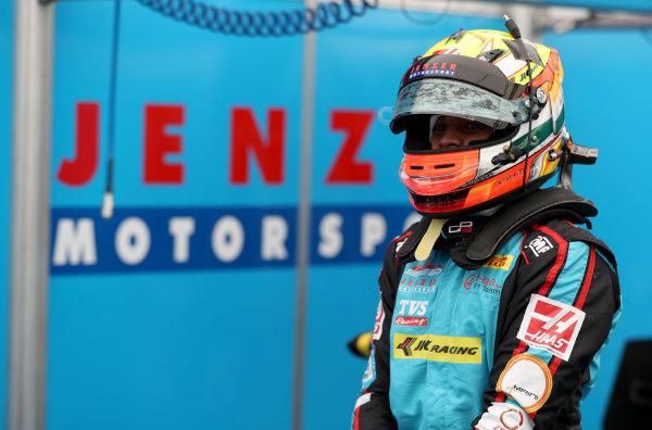 2017 GP3 Series Round 1.  Circuit de Catalunya, Barcelona, Spain. Thursday 11 May 2017.  Arjun Maini, Jenzer Motorsport Photo: Jed Leicester/GP3 Series Media Service. ref: Digital Image JL2_9909