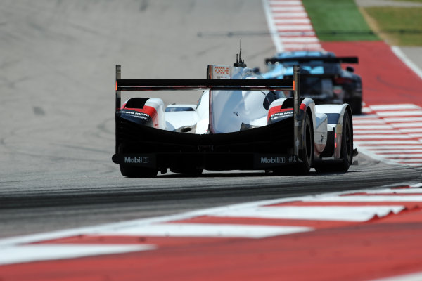 2017 FIA World Endurance Championship, COTA, Austin, Texas, USA. 14th-16th September 2017, #1 Porsche LMP Team Porsche 919 Hybrid: Neel Jani, Andre Lotterer, Nick Tandy  World Copyright. May/JEP/LAT Images