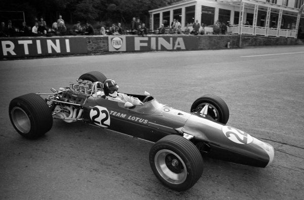 Graham Hill, Lotus 49 Ford.