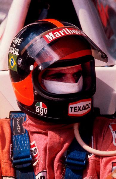1974 Monaco Grand Prix.Monte Carlo, Monaco.23-26 May 1974.Emerson Fittipaldi (McLaren Ford) 5th position.Ref-74 MON 19.World Copyright - LAT Photographic