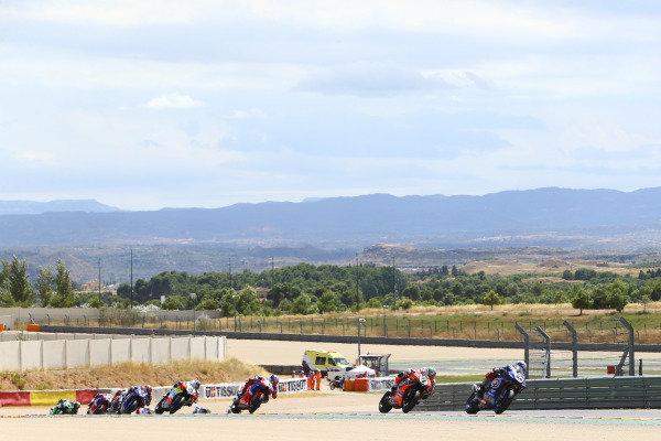 Toprak Razgatlioglu, Pata Yamaha, Chaz Davies, Arubait Racing Ducati, Leon Haslam, Team HRC.