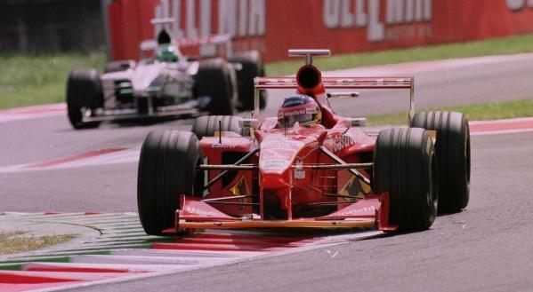 1998 Italian Grand Prix.Monza, Italy.11-13 September 1998.Jacques Villeneuve (Williamd FW20 Mecachrome).World Copyright - Steve Etherington/LAT Photographic