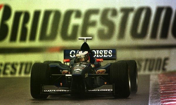1998 Belgian Grand Prix.Spa-Francorchamps, Belgium. 28-30 August 1998.Jarno Trulli (Prost AP01 Peugeot) 6th position.World Copyright - LAT Photographic