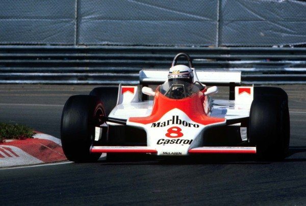 1980 Canadian Grand Prix.Montreal, Quebec, Canada.26-28 September 1980.Alain Prost (McLaren M30 Ford).World Copyright - LAT Photographic