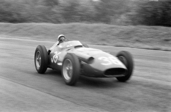 Stirling Moss, Maserati 250F.