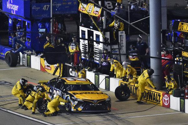 #20: Christopher Bell, Joe Gibbs Racing, Toyota Camry DEWALT Salute First Responders