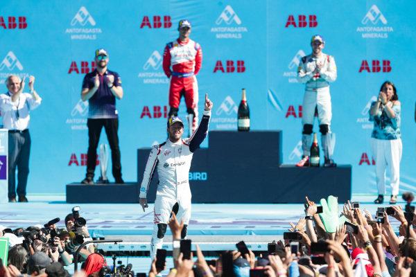Sam Bird (GBR), Envision Virgin Racing, celebrates