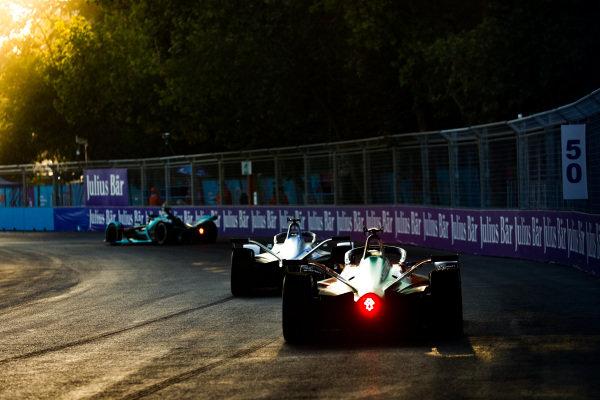 Lucas Di Grassi (BRA), Audi Sport ABT Schaeffler, Audi e-tron FE05 follows Felipe Massa (BRA), Venturi Formula E, Venturi VFE05
