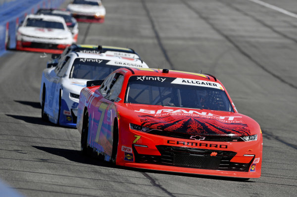 #7: Justin Allgaier, JR Motorsports, Chevrolet Camaro BRANDT, #9: Noah Gragson, JR Motorsports, Chevrolet Camaro Nationwide Children's