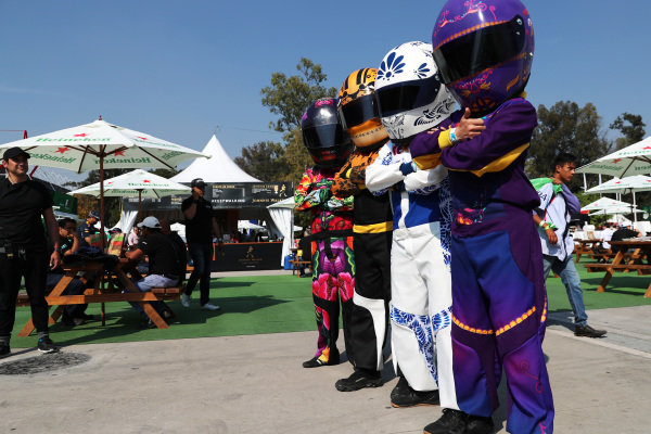 Atmosphere at Formula One World Championship, Rd18, Mexican Grand Prix, Race, Circuit Hermanos Rodriguez, Mexico City, Mexico, Sunday 29 October 2017.