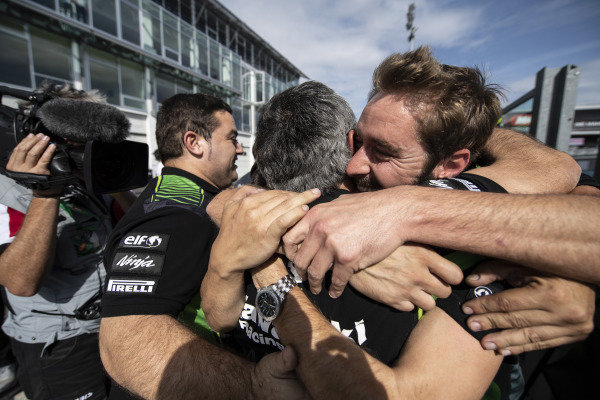 Kawasaki celebrate Jonathan Rea, Kawasaki Racing Team winning his 5th world title.