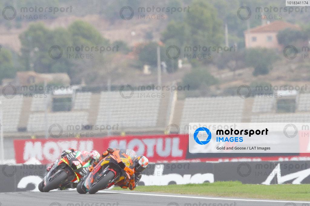 Pol and Aleix Espargaro, Aprilia Racing Team Gresini.