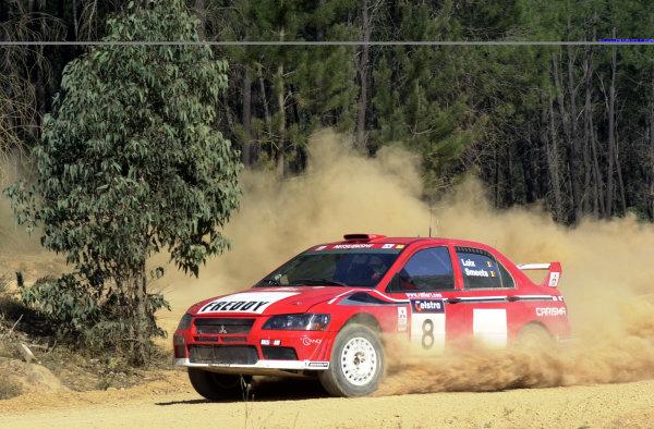 2001 World Rally ChampionshipTelstra Rally Australia, Perth, WA. 1-4 November 2001.Freddy Loix on stage 7.Photo: Ralph Hardwick/LAT