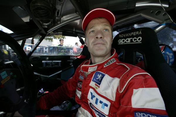 2004 FIA World Rally Champs. Round Sixteen, Rally Australia.11th - 14th November 2004.Harri Rovanpera, Peugeot, portrait.World Copyright: McKlein/LAT
