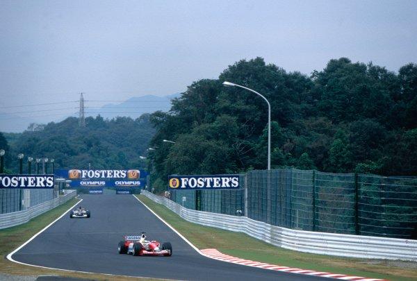 2003 Japanese Grand PrixSuzuka, Japan. 10th - 112th October 2003.Cristiano da Matta, Toyota TF103, actionWorld Copyright: PICME / LAT Photographic ref: 35mm Image 03JAP29